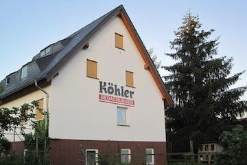 Gebäude Köhler Bedachungen