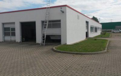 Dachabdichtung einer Materialprüfanstalt