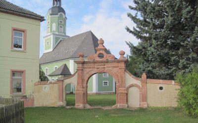 Sanierung einer Kirchhofmauer in Elbisbach