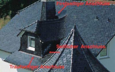 Anschlüsse am Dach