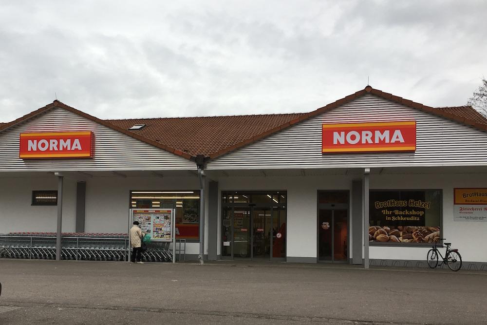 Erweiterung eines Einkaufmarktes in Schkeuditz