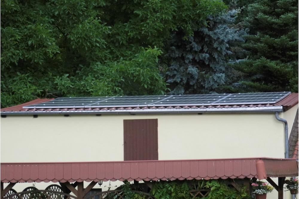 Fotovoltaik-Anlage auf Dach