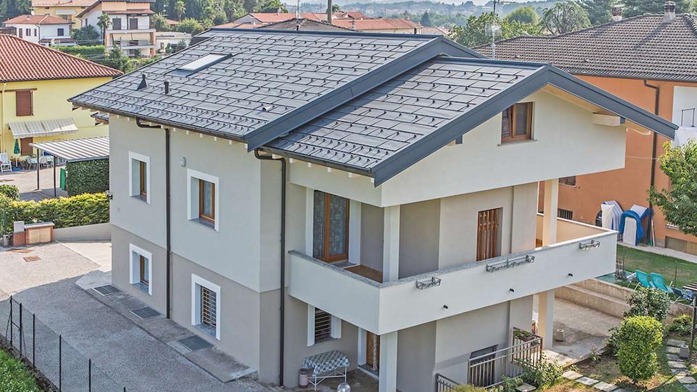 Dächer aus Aluminium