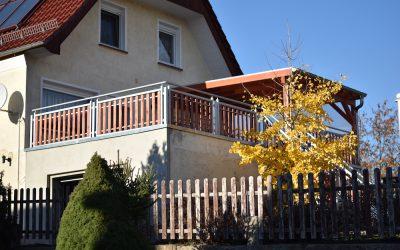 Referenz Terrasse – Terrassendichtung mit Überdachung