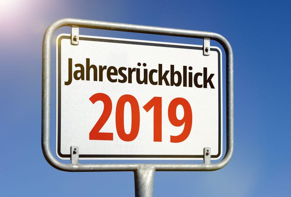 Jahresrückblick des Jahres 2019