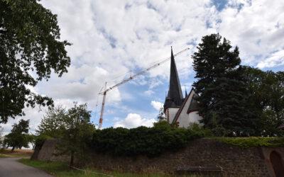 Kirchturm in Roda