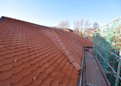 Biberschwänze Dach