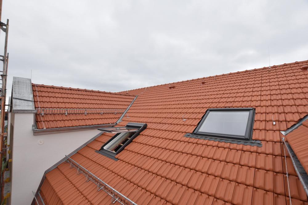 Eindeckung eines 800qm-Daches in Leipzig